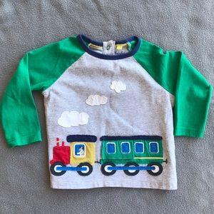 🌱nwot • mini Boden baseball tee style shirt